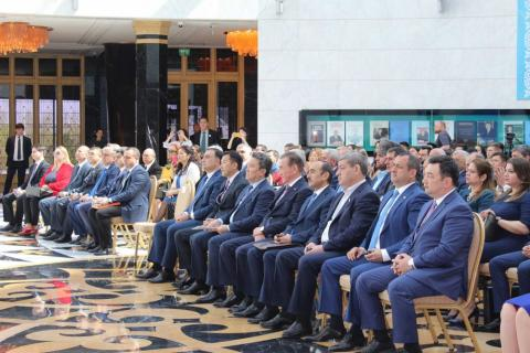 "Astana hosts presentation of book ""The way opened towards homeland"" on 95th anniversary of national leader Heydar Aliyev"