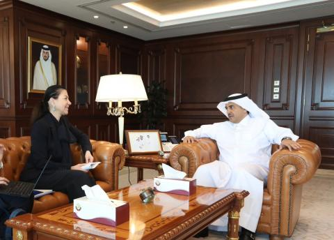 Attorney General Meets Executive Director of Counter-Terrorism Committee Executive Directorate