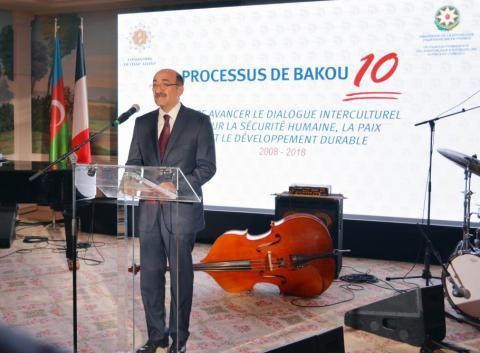 10th anniversary of Baku Process marked in Paris