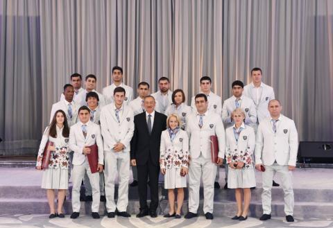 Thanks to President Ilham Aliyev's care and attention, Azerbaijan has experienced rapid development in the field of sport