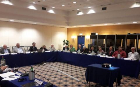 Vice-president of Azerbaijan Wrestling Federation attends United World Wrestling Executive Committee meeting