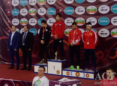 Azerbaijani wrestler crowned European champion