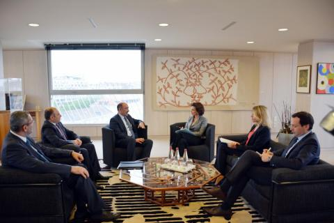 UNESCO chief hails the organization`s relations with Azerbaijan