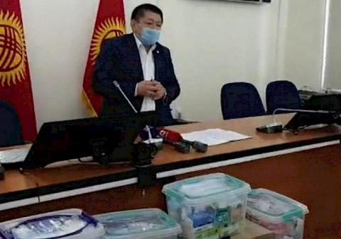 Ministry of Health Kyrgyzstan sends team of doctors to south of country to combat coronavirus