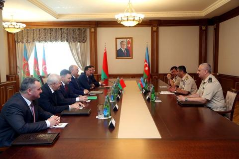 Azerbaijan, Belarus discuss prospects for military-technical cooperation