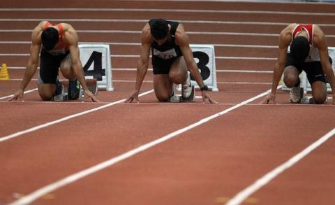 Iranian runners top in track and field event in Belarus