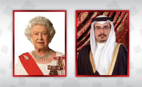 HRH the Crown Prince and Prime Minister sends good wishes to HM Queen Elizabeth II