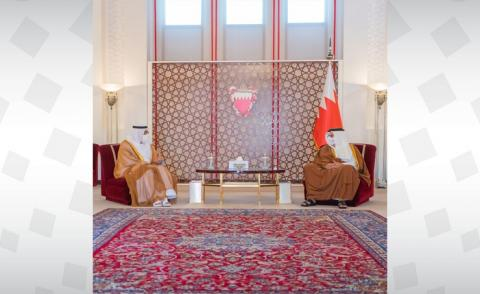 HRH the Deputy King receives Their Excellencies the GCC Ministers of Health