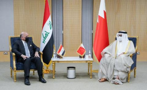 Foreign Minister meets Iraqi counterpart
