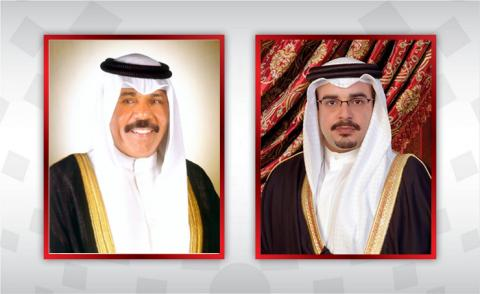 HRH Crown Prince and Prime Minister thanked by the Amir of the State of Kuwait
