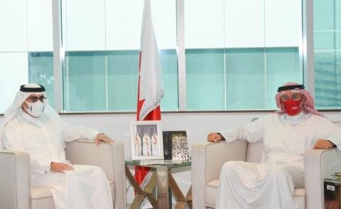 Industry Minister receives ambassador to US