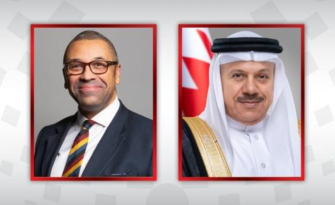 Foreign Minister receives call from UK Minister