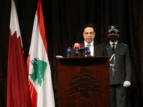 Lebanese Caretaker Prime Minister: Qatar Continues to Support Lebanon without Fanfare or Political Calculations