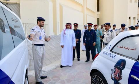 Traffic delegation visits Abu Dhabi and Dubai Police