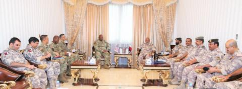 Chief of Staff Meets Commander of US Marine Corps Forces Central Command