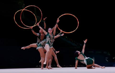 Azerbaijan claim ring bronze at FIG Rhythmic Gymnastics World Cup