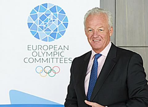 Simon Clegg Re-Joins European Olympic Committees