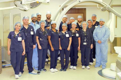 Cleveland Clinic Abu Dhabi uses revolutionary treatment on ischemic stroke patients
