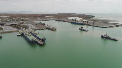 President allocates funds for continuation of construction of new Baku port and passenger terminal
