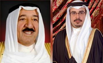 HRH Crown Prince thanked by Kuwaiti Emir