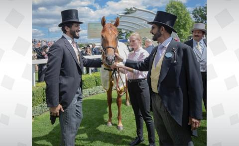 HH Shaikh Nasser dedicates Royal Ascot victory to HM the King