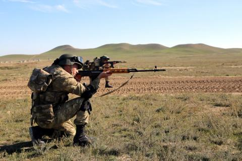 Azerbaijan`s Defense Ministry: Armenian armed units violated ceasefire 79 times