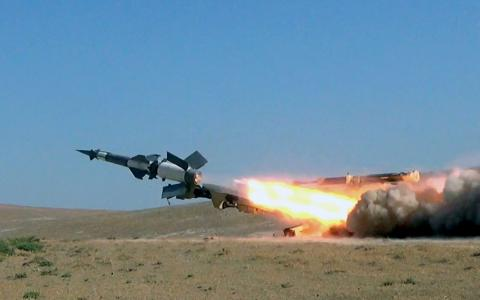 Azerbaijan`s Defense Ministry: Anti-aircraft missile troops conduct live-fire exercises