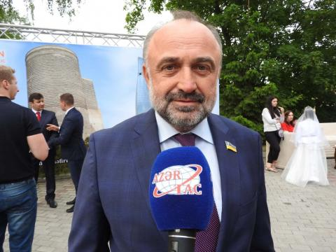 Deputy of Verkhovna Rada: Ukraine is pleased with Azerbaijan's achievements over the past 100 years