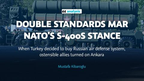 Double standards mar NATO's S-400s stance