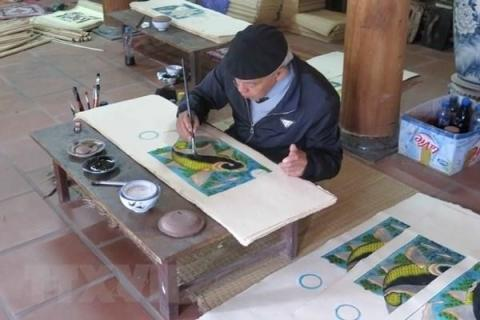Dossiers on Vietnam's Dong Ho folk painting to be appraised