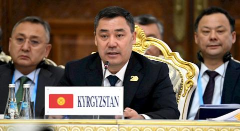 Sadyr Zhaparov: Over 20 years, SCO achieved concrete results and significant successes