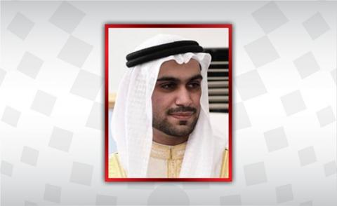 HH Shaikh Nasser congratulated by EDB's executive director