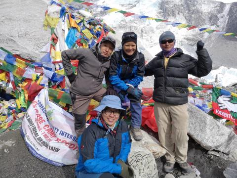 A Journey Of Self-Discovery To Everest Base Camp