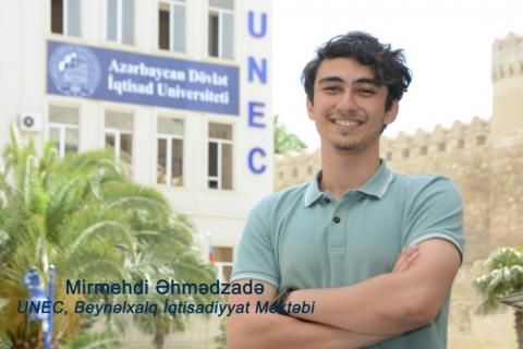 Azerbaijani student wins international scientific contest of BSEC