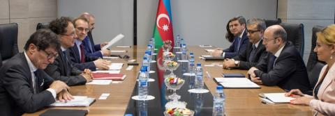 Azerbaijan's energy minister: TAP will contribute to diversification of Italy`s gas supply sources