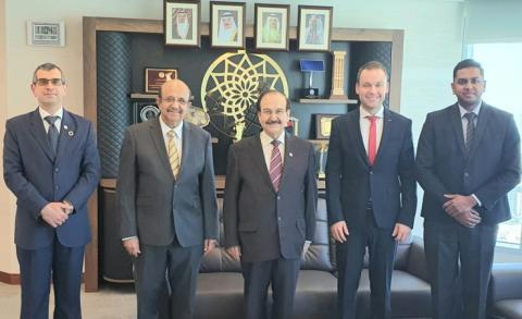 SEA President receives Power Solutions International, Al Mahrous delegations