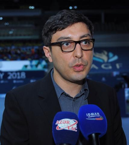 Farid Gayibov: I'm sure our gymnasts will make us proud in the final tomorrow