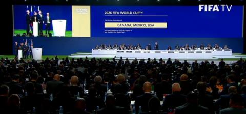 Canada, Mexico and USA selected as hosts of the 2026 FIFA World Cup