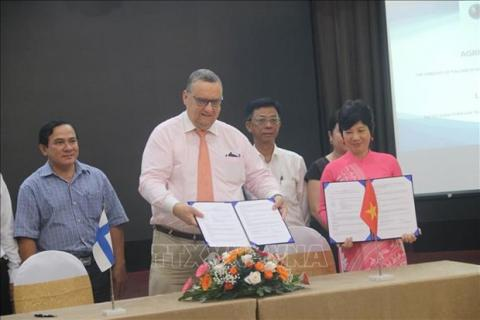 Finnish Embassy in Vietnam funds Mekong Delta climate change response