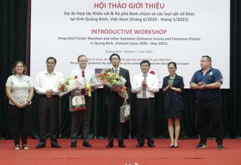 Foreign NGOs join hands to help central Vietnamese province clear UXO