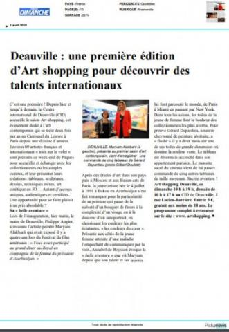 """""""France3"""" TV airs reportage about Azerbaijani young artist"""