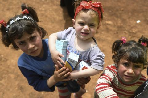 Syrian Refugees Desperate For Medical Aid