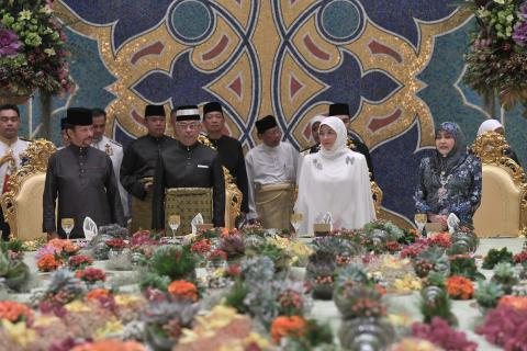 Brunei Sultan Confident of Successful Reign By New Malaysian King