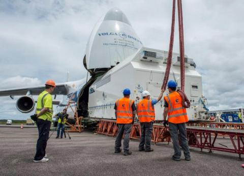 Azerbaijan`s geostationary satellite delivered to French Guiana Spaceport