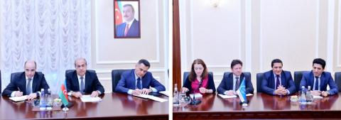 Azerbaijan Deputy Minister of Justice meets Council of Europe official