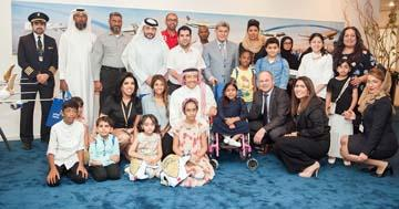 Gulf Air supports Dreams Society with children's initiative
