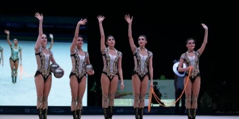 Azerbaijani gymnasts claim bronze at FIG World Challenge Cup 2018 in Spain