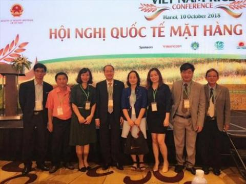 Vietnamese company strikes rice export deals at world rice conference