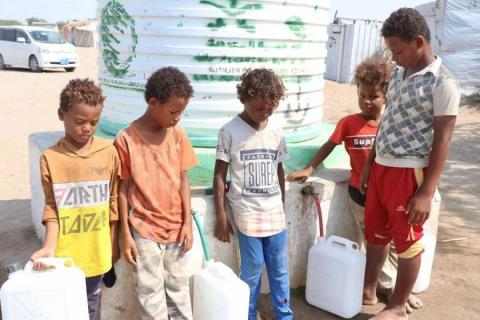 KSrelief Continues Implementing Water Supply, Environmental Sanitation Project, in Hodeida, Yemen