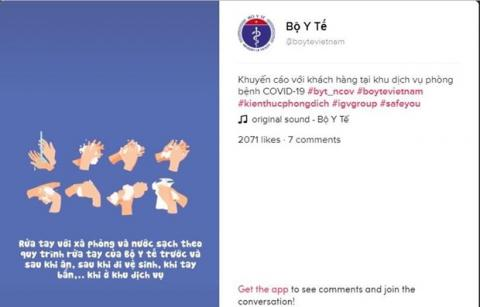 Vietnamese health Ministry launches account on COVID-19 prevention on TikTok platform